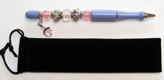 Vintage Lavender-pen, lavender, green, pink, ink, blue, black, metal, vintage, gift, velvet, unique,chic, wedding, birthday,silver,bling,blue,ink,