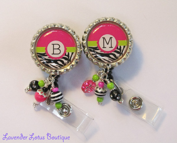 Personalized Brites-retractable, id, reel, badge, personalized, beaded, bling, fun, zebra, cigar band, beads, retractable id, retractable badge, retractable holder, retractable badge reel, retractable id reel, retractable badge holder, id reel, badge reels, badge holders, fun badge reels, unique badge reels, personalized badge reels, beaded badge reels, hot badge reels, personalized id reels, designer id reels, personalized id holder, nurse, teached, office, medical, education, business
