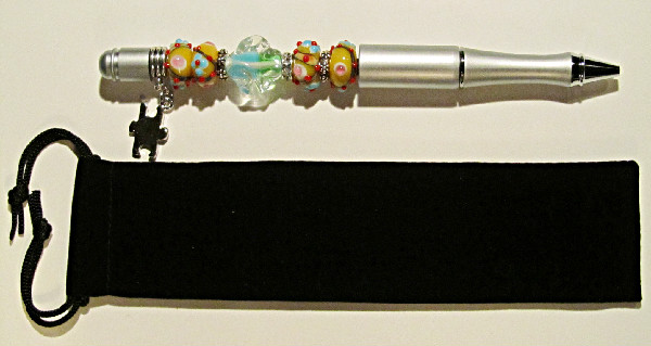 Silver Autism Awareness-Silver,autism,awareness,autism awareness,beadpen,glass,lampwork,beads,silver,sterling,charm,puzzle piece,bling,gift,support