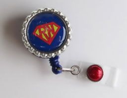 Superman RN-Superman,badgereel,idreel,RN,nurse,red,blue,yellow,gift,medical,classic,male,hero,teacher,healthcare,doctor