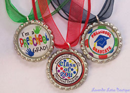 2011 Preschool Graduate-2011, preschool, graduate, bottlecap, necklace, hat, tassle, painted, hands, year, bottlecap, navy, blue, green, yellow, silver, ballchain, teacher, student, friend, gift, family, achievement,student, 2011 preschool graduate, preschool graduation gift, bottlecap necklace, ribbon necklace, silver ballchain necklace,