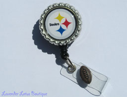 Pittsburgh Steelers Inspired-retractable, badge, reel, id, credentials, holder, sports, Steelers, football, retractable badge reel, retractable id reel, retractable id holder, retractable badge holder, retractable credentials holder, badge reel, id reel, badge holder, id holder, credentials holder, sports badge reel, sports id reel, sports id holder, Steelers badge reel, Steelers id reel, Steelers gift, Steelers, Pittsburgh Steelers, football gift, football, nurse, medical, doctor, teacher, coach, sports gift, Steelers gift, Pittsburgh Steelers gift, fun badge reel