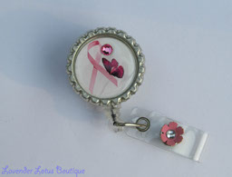 Pink Ribbon & Butterfly Breast Cancer Awareness-retractable, badge, reel, id, credentials, retractable badge reel, retractable id reel, retractable id holder, retractable credentials holder, Breast Cancer Awareness, Awareness retractable badge reel, Awareness badge reels, Awareness id reels, Awareness id holders, Breast Cancer badge reels, Breast Cancer id reels, Breast Cancer id reel, badge reels, id reels, id holders, credentials holders, Awareness gifts, nurse badge reels, teacher badge reels, office badge reels, fun badge reels, unique badge reels, custom badge reels, bottlecap badge reels, bottlecap id reels